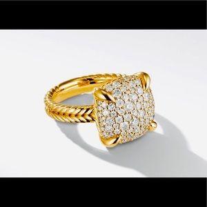 David Yurman Chatelaine ring 18ky